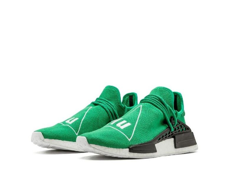 2a37be7a146a2d Adidas PW Human R1 NMD Green Replica Style Number  BB0620 Colorway   Green Footwear White-Black Size  5-11.5(US) WhatsApp +8619991898923  Adidas   Pharrell ...