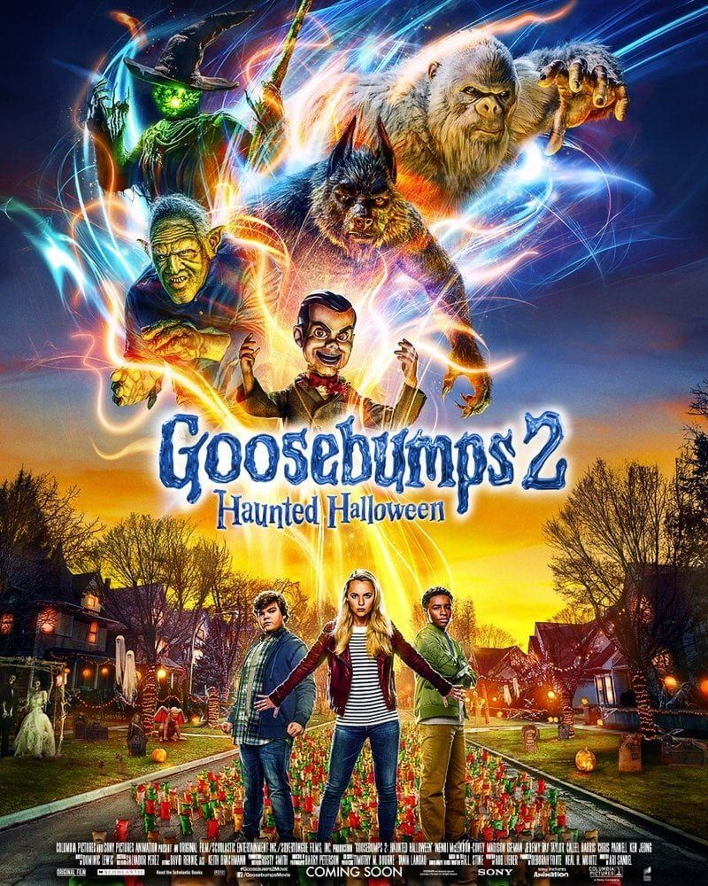 Goosebumps 2 Haunted Halloween In Theaters With Images Halloween Full Movie Halloween Film Goosebumps