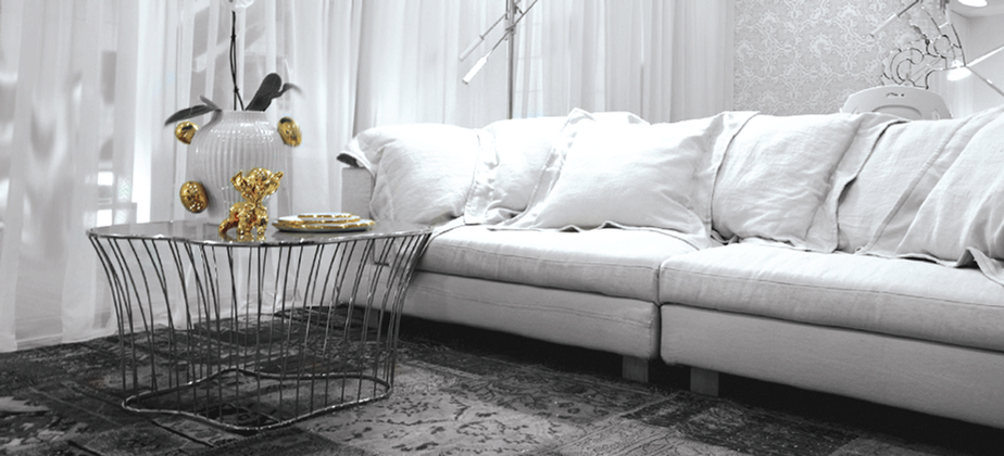 metaller couchtisch für modernes wohnzimmer @bocadolobo