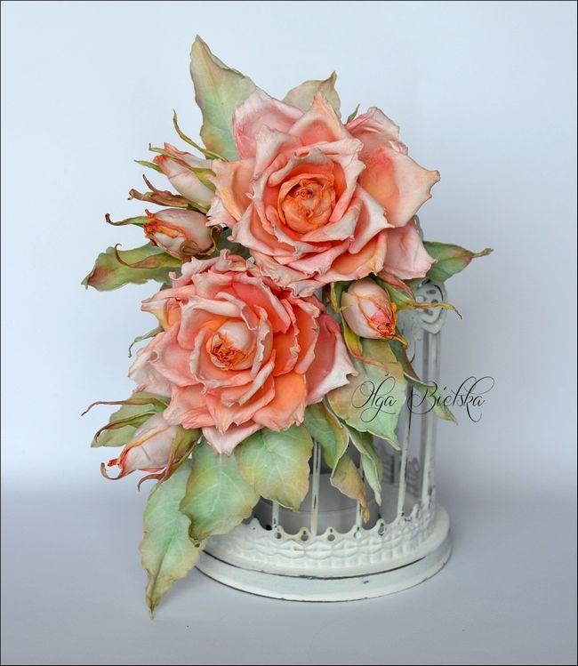 Male I Duze Tworcze Podroze Scrapowe Roze Z Foamiranu Jedwabnego Dt Craft Passion Paper Flowers Craft Crafts Foam Flowers
