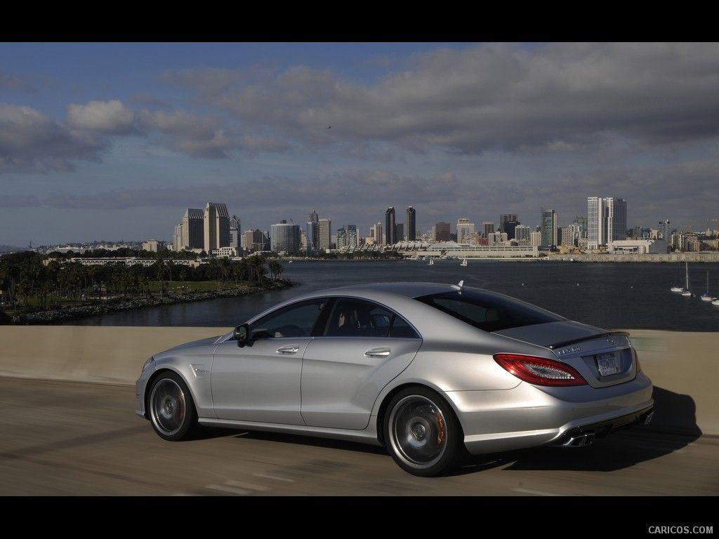 Mercedes Benz Cls63 Amg 2012 Us Version Iridium Silver Side