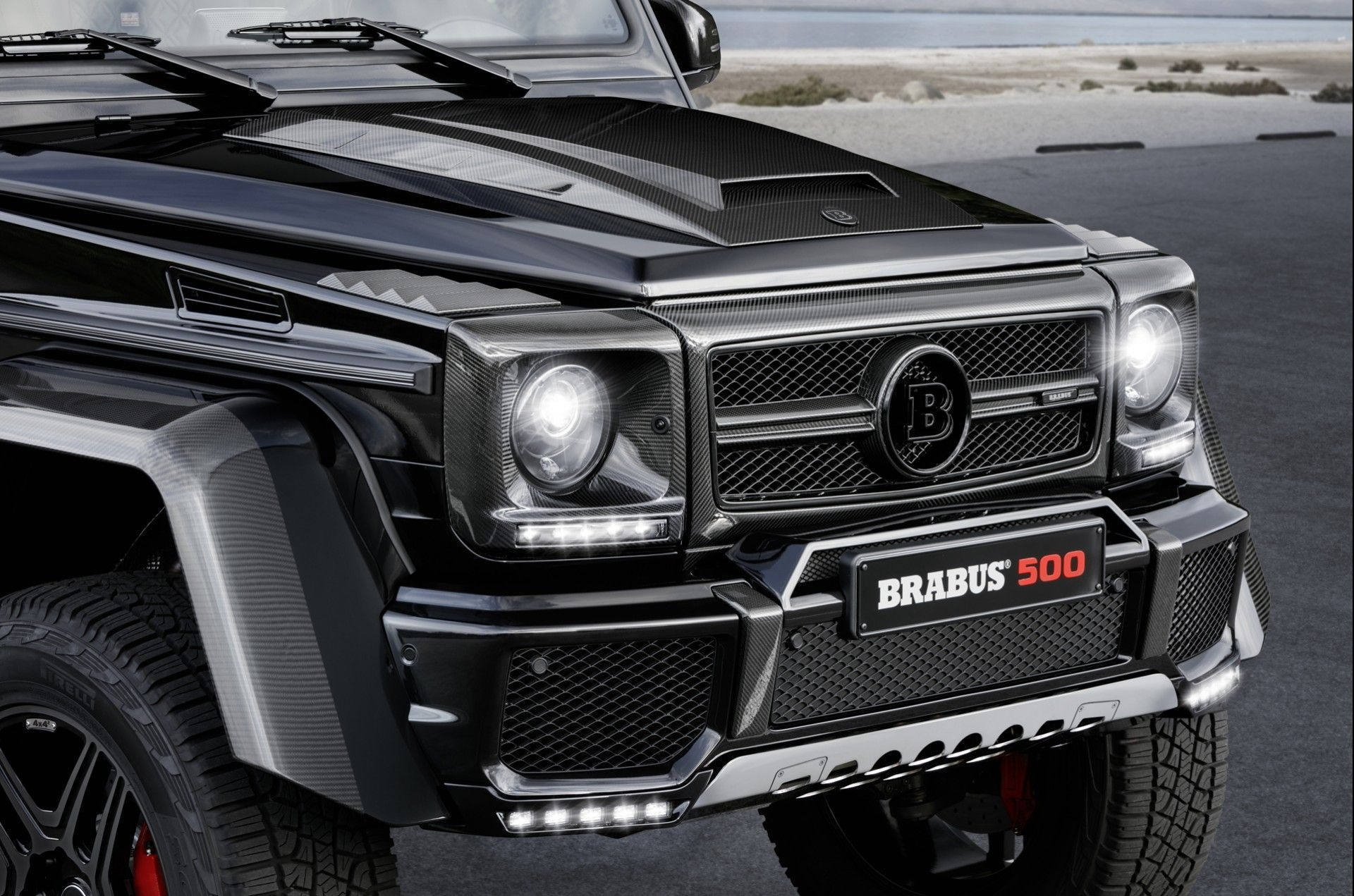 Brabus G500 4x4 Mercedes G500 Mercedes Benz G500 Mercedes G
