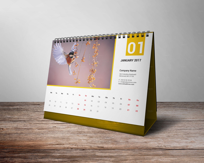 Best Deskcalendar Calendar 2017 Desk Calendar 2017 Corporate
