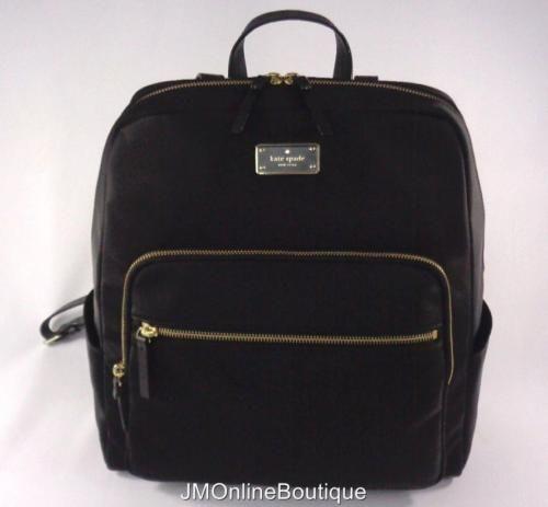 Kate Spade Blake Avenue Large Hilo Black Backpack Computer Bag ...