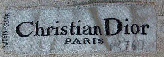 Vintage Fashion Guild Label Resource Dior Christian Christian Fashion Vintage Fashion Dior