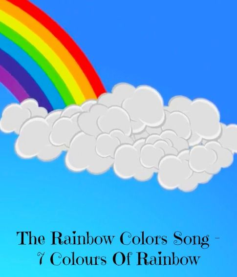 Rainbow Printable Art Nursery Decor Rainbow Colour Nursery Art