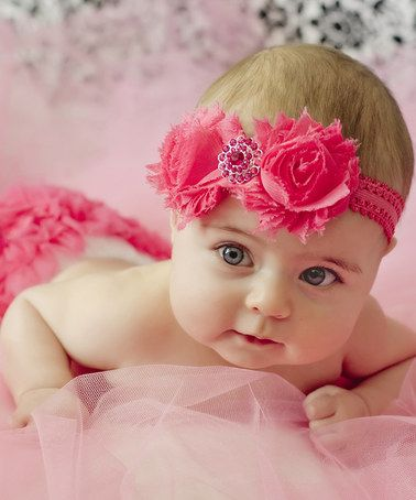 Look what I found on  zulily! Hot Pink Diaper Cover   Headband - Infant   zulilyfinds ea4174e0d95