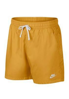 8020e35f1e Nike Men's Woven Shorts - Gold Dart/White - Xl in 2019 | Products ...