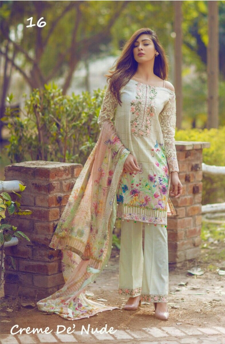 6ae1e2be10 Noor by Saadia Asad coming soon @ 5990/- PKR. Embroidered lawn with pure  chiffon, silk or net dupatta. For details please contact at 03459347110