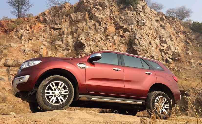 2016 Ford Endeavour Review carandbike Ford endeavour