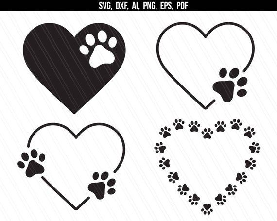Heart Dog Paw Print Png – Collection of dog paw print (33) dogs leave paw prints on your heart svg pawprint png