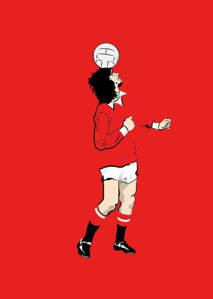 George Best Of Man Utd Wallpaper Old Trafford Manchester United Football Fa Cup