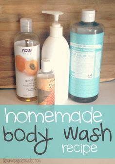 Body Wash Recipe There are many benefits to making your own body wash. This homemade body wash recipe is so simple and inexpensive to make, and totally customizable.There are many benefits to making your own body wash. This homemade body wash recipe is so simple and inexpensive to make, and totally customizable.