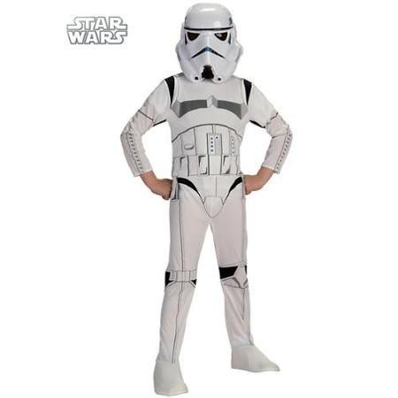 Star Wars Stormtrooper Costume for Boys - Size M - Walmart - no cost halloween costume ideas