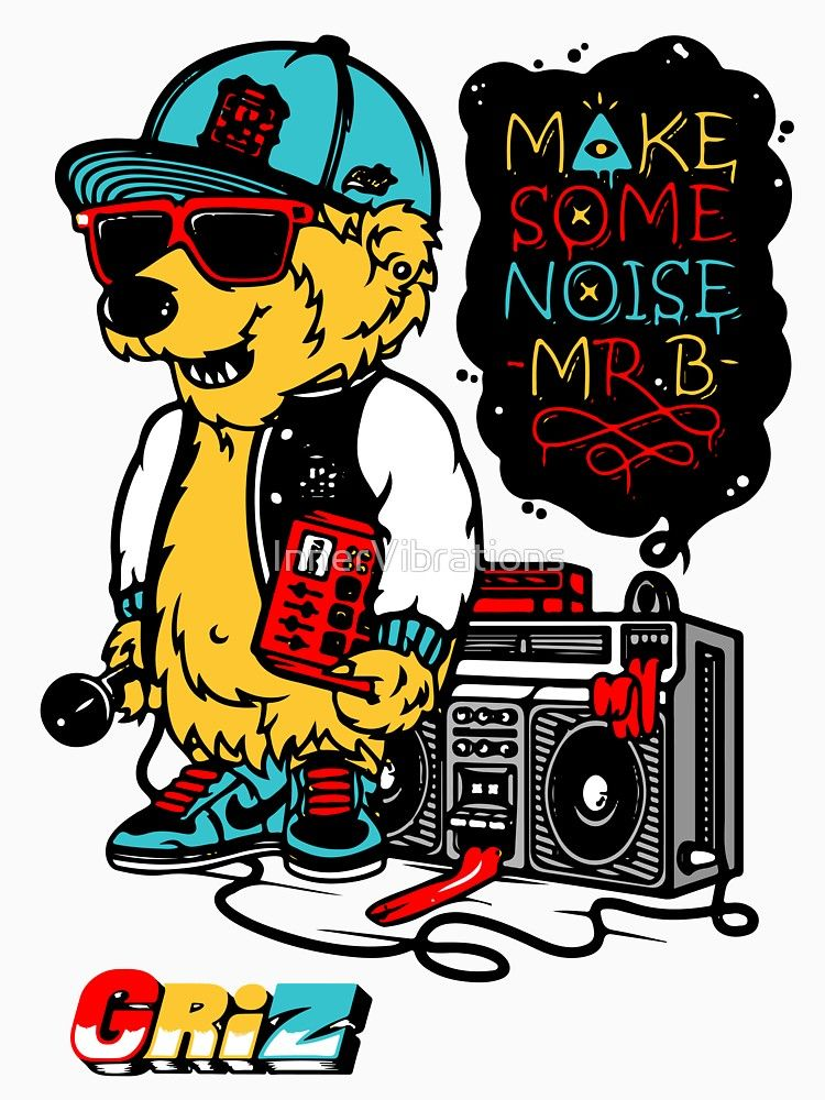 GRIZ- Make Some Noise Mr  B by InnerVibrations | MUSIC BANDS