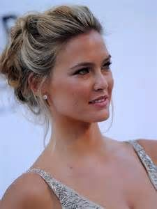nice front to the updo with images  medium length hair