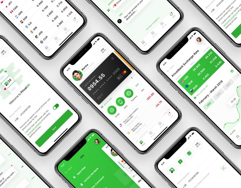 Oznakomtes S Etim Proektom Behance Privat Bank Mobile App Design Concept Https Www Behance Net Gallery 67709559 Privat Bank Mobile App 포트폴리오 웹 디자인 웹디자인