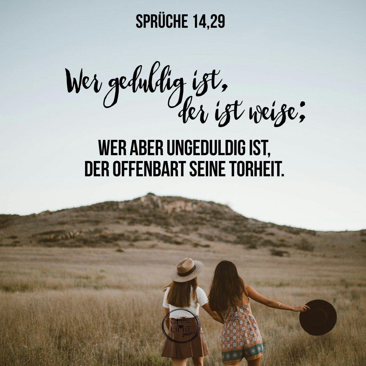 Geduld Bibel