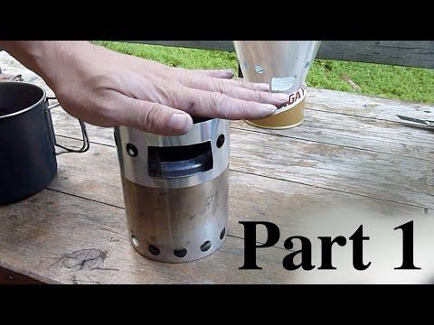 0.07oz Bushbuddy stove ultimate windscreen - Part 2 - YouTube