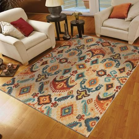 Better Homes And Gardens Ashland White Area Rug 5 3 X 7