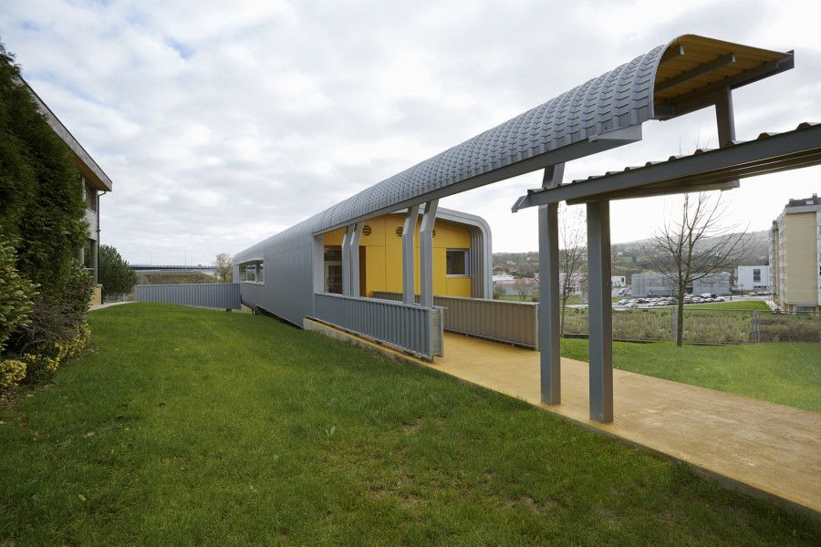 primary school, school design, green school, Miguel Ángel García-Pola Vallejo, Spain, rainwater, flexible design, modular design, modular architecture, prefab architecture