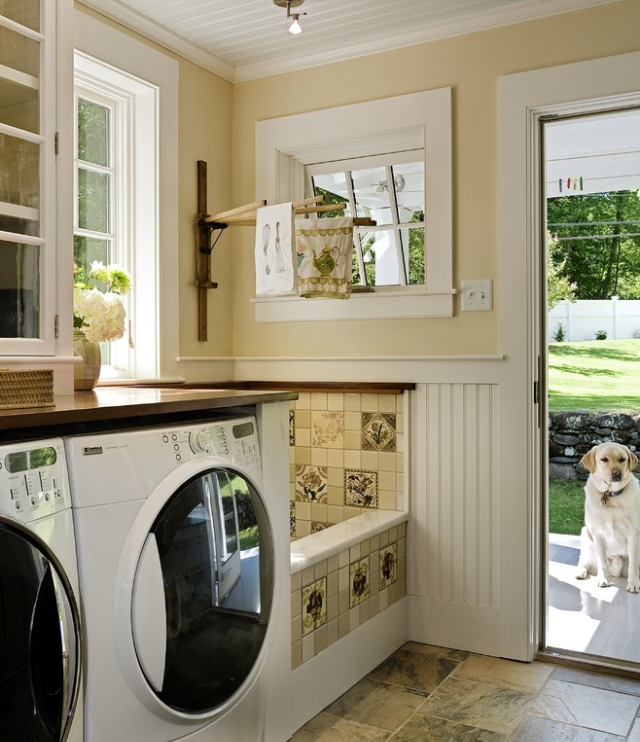 Laundry-Mud Room ~ with dog wash