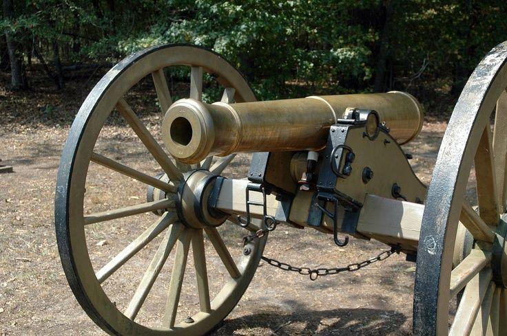 American Civil War Artillery - Bronze Model 1841 6-Pounder