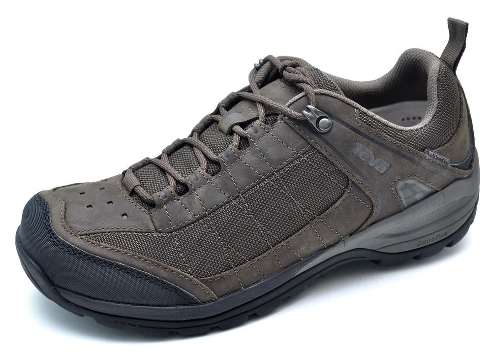 22cccc5fa733 Teva KIMTAH Waterproof Mesh Turkish Coffee Brown Trail Hiking Shoes Men s -  NEW  Teva  WalkingHikingTrail