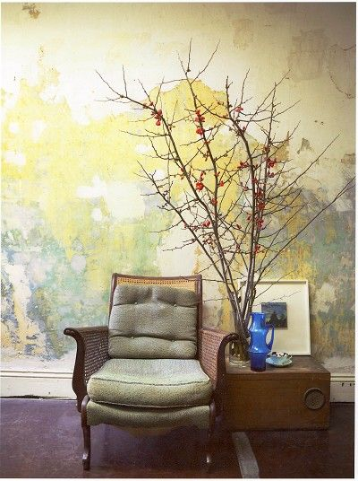 Beautiful wall. Stylist Louise Bickle. | Dreamy Decorative Walls ...