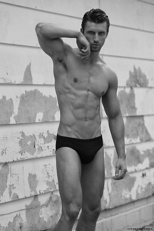 Black muscle men solo