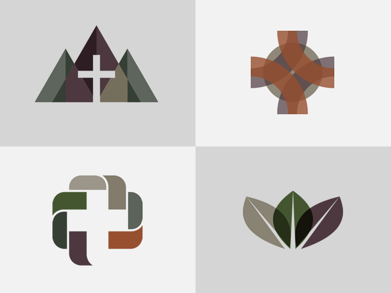 Brand mark exploration for a Wyoming based church | Great Church ...