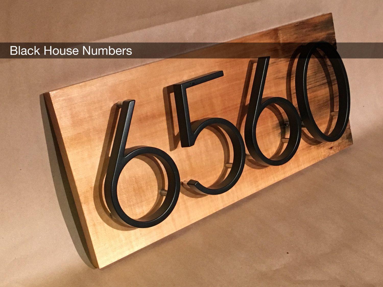 Charmant Modern House Numbers Tsy S I G N A E Pinterest