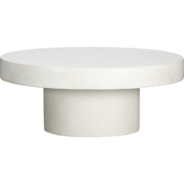 Shroom Coffee Table Bedroom Side Table CB Inside Voices - Cb2 stone table