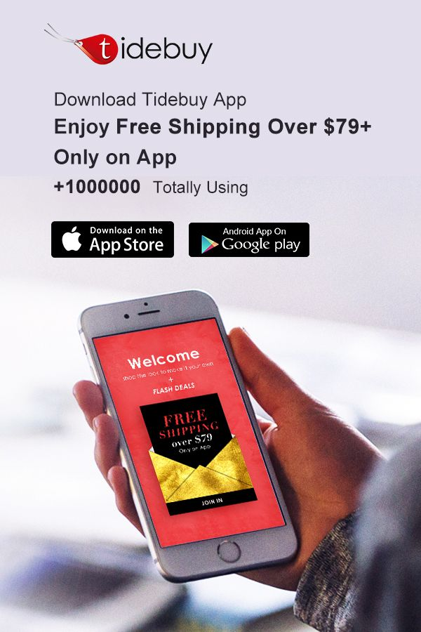 Tidebuy App Is Online Enjoy More Convenient Shopping Online And Get More Discount From App Cheap Clothes Shopping App Convenient Shopping