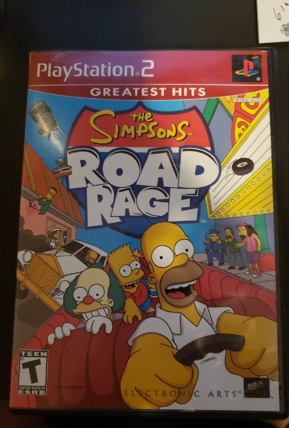 The Simpsons Road Rage PS2 in 2020 Road rage, The
