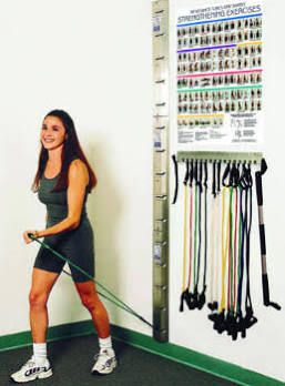 Resistance Band Wall Mount Google Search Exercise At