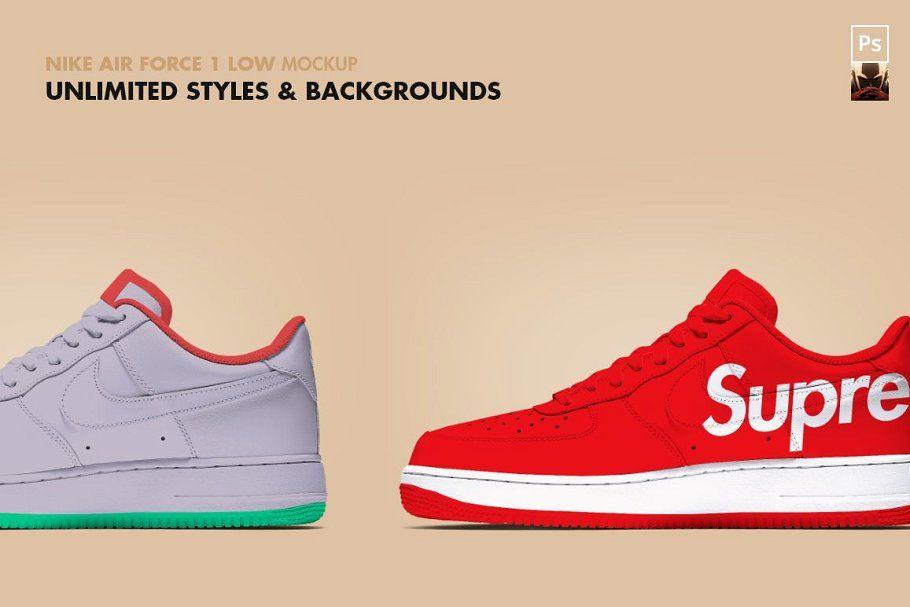 Nike shoe mockup psd