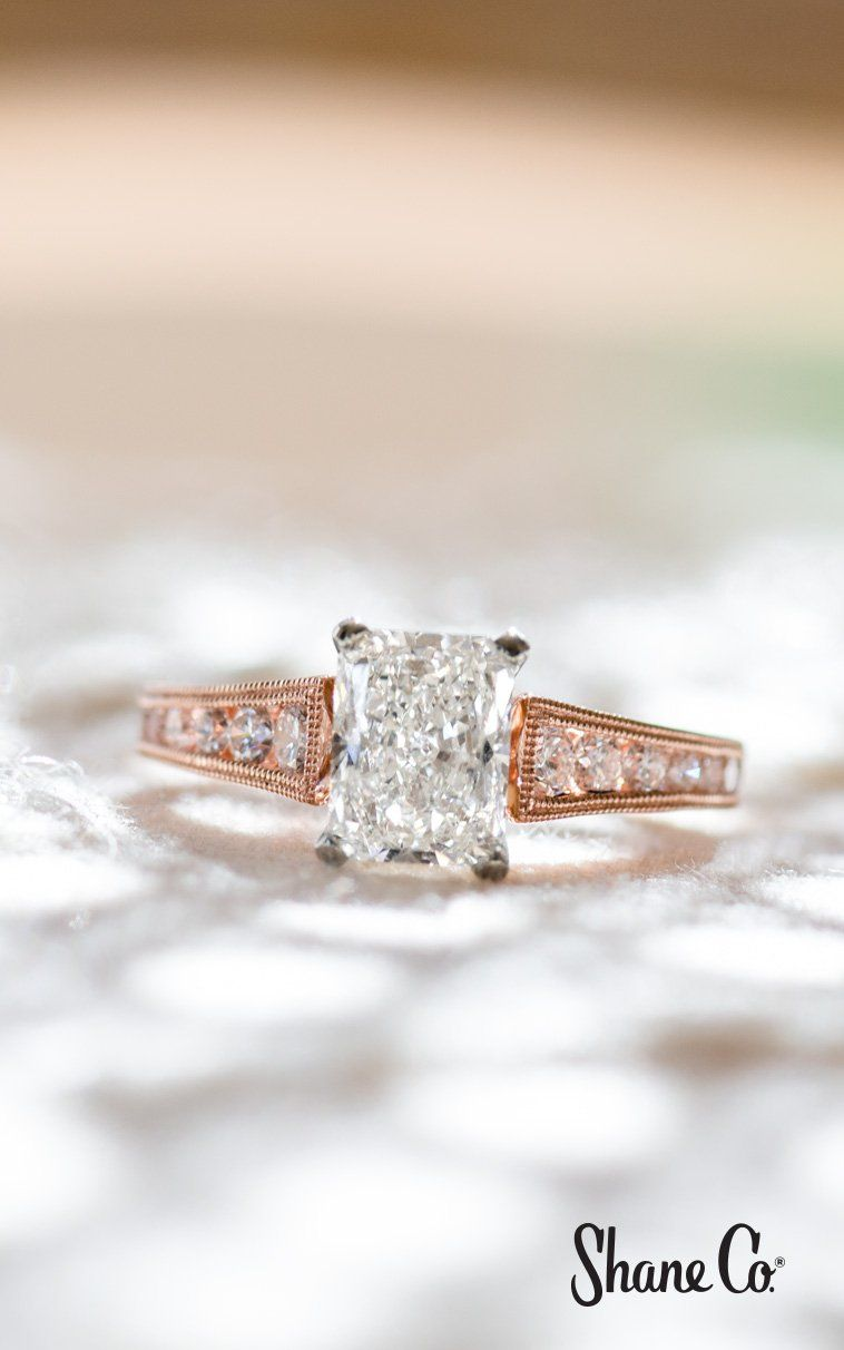 Cathedral Vintage Round Diamond Engagement Ring With Images Round Diamond Engagement Rings Vintage Inspired Rings Special Engagement Ring