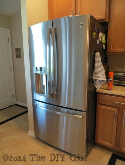 best way to clean stainless steel appliances and keep them clean the diy girl for the home. Black Bedroom Furniture Sets. Home Design Ideas