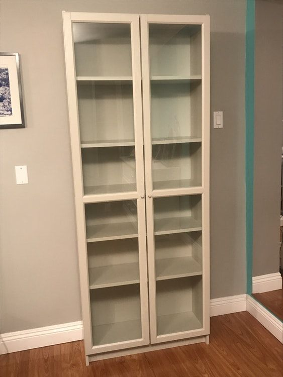Ikea Bookcase With Glass Doors Inspirational Revivals Bookshelves