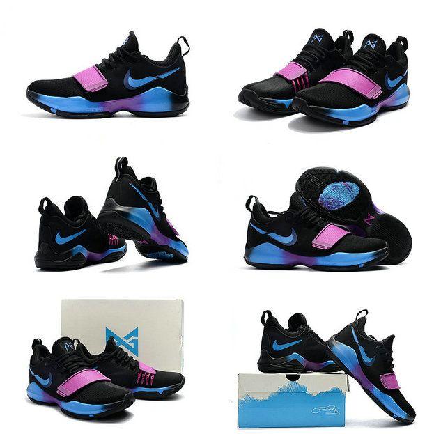 Sale Cheap Flip the Switch Black Nike PG 1 Deep Royal Blue Photo Blue Blue  Fury