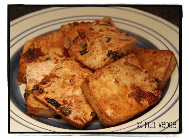 Full vedge - Recettes végétariennes et gourmandes!: Tofu au gingembre