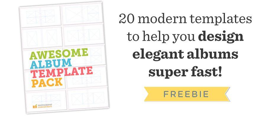 Free InDesign Album Template Pack Album Pinterest - free album templates