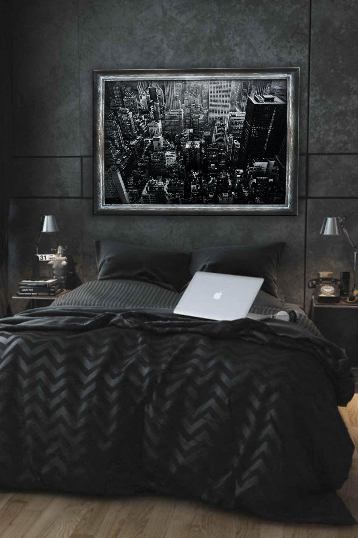 22 Beautiful Black Bedroom Design Ideas You Will Fall In Love With In 2020 Black Bedroom Decor Black Bedroom Furniture Decor Black Bedroom Design Bedroom design ideas black