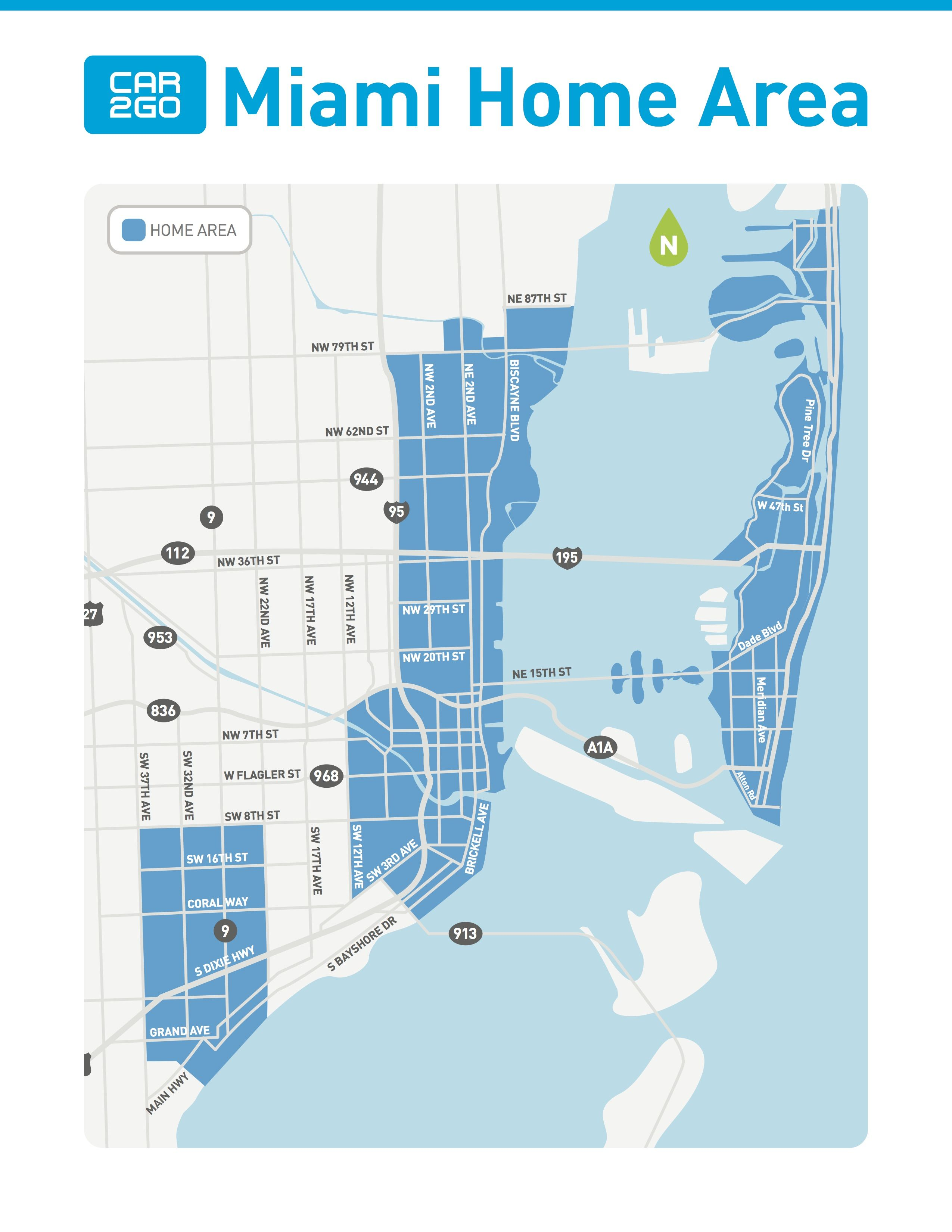 car2go expanding bigtime to miami beach october 1st