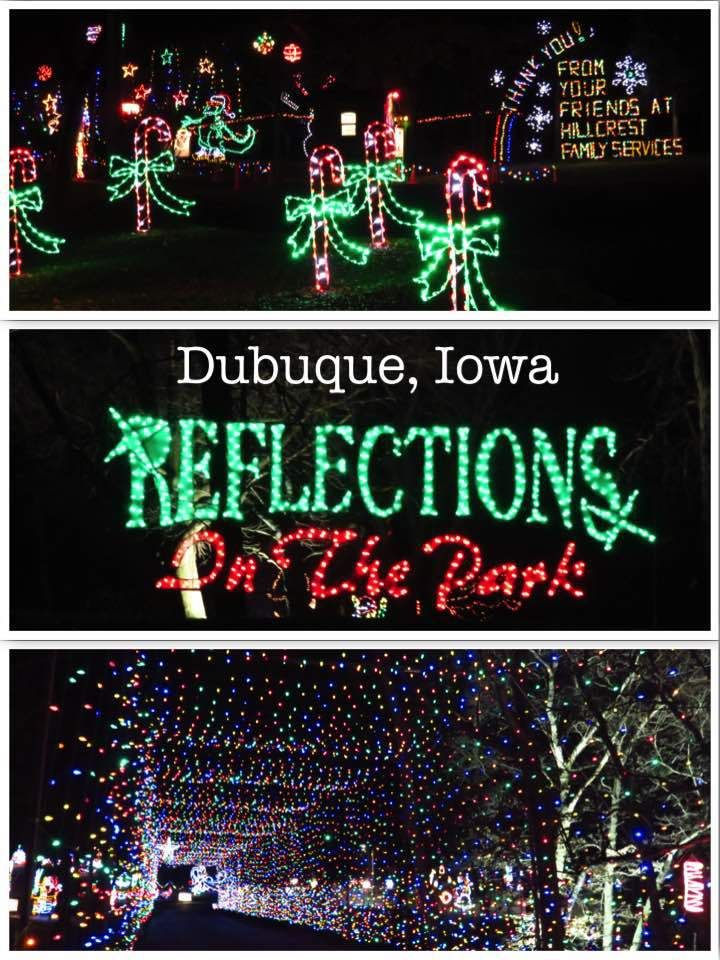 Drive Through Christmas Lights Near Me.Reflections In The Park Dubuque Drive Thru Christmas Light