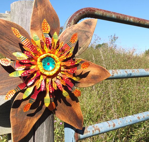 Fall Wreath, Outdoor Rustic Decor, Reclaimed Wood and ...