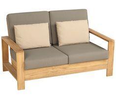 Sof de madera cayo largo sofas pinterest sof de - Que cuesta tapizar un sofa ...