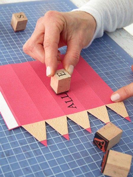 kreative geschenkverpackung zum schulanfang geschrieben pinterest school craft and gift. Black Bedroom Furniture Sets. Home Design Ideas