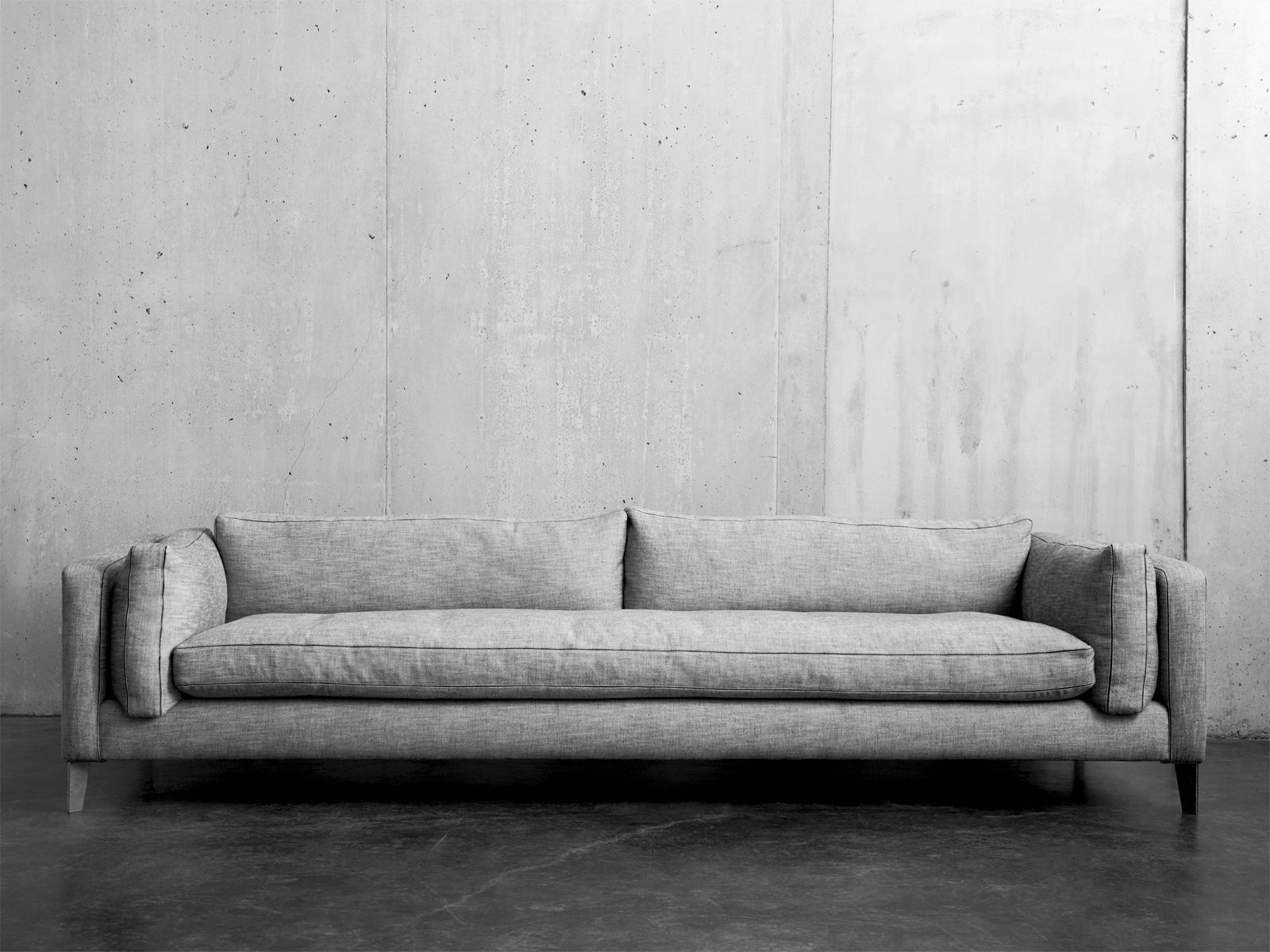 Superb Montauk Sofa, Harris Sofa. I Like That This Is Clean Yet Cozy Enough To